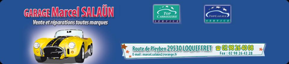 Garage Salaun Loqueffret, centre Finistère (29) Bretagne